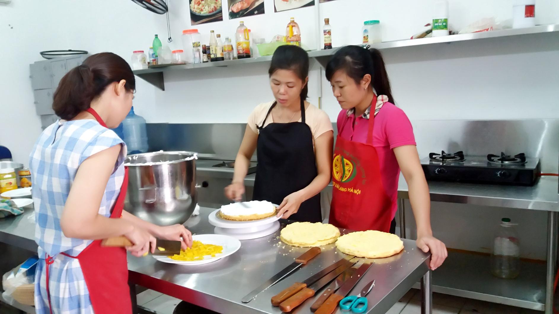 Dạy Làm Bánh Gato